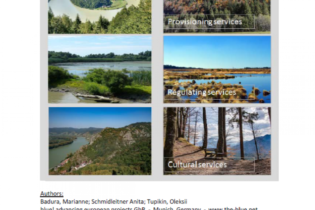 Study on Ecosystem Services in the Danube Region