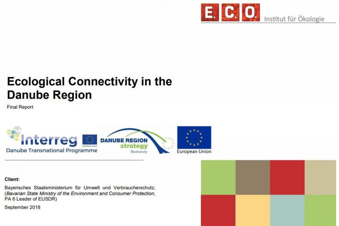 The study: Ecological Connectivity in the Danube Region